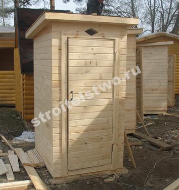 Садовые туалеты построить