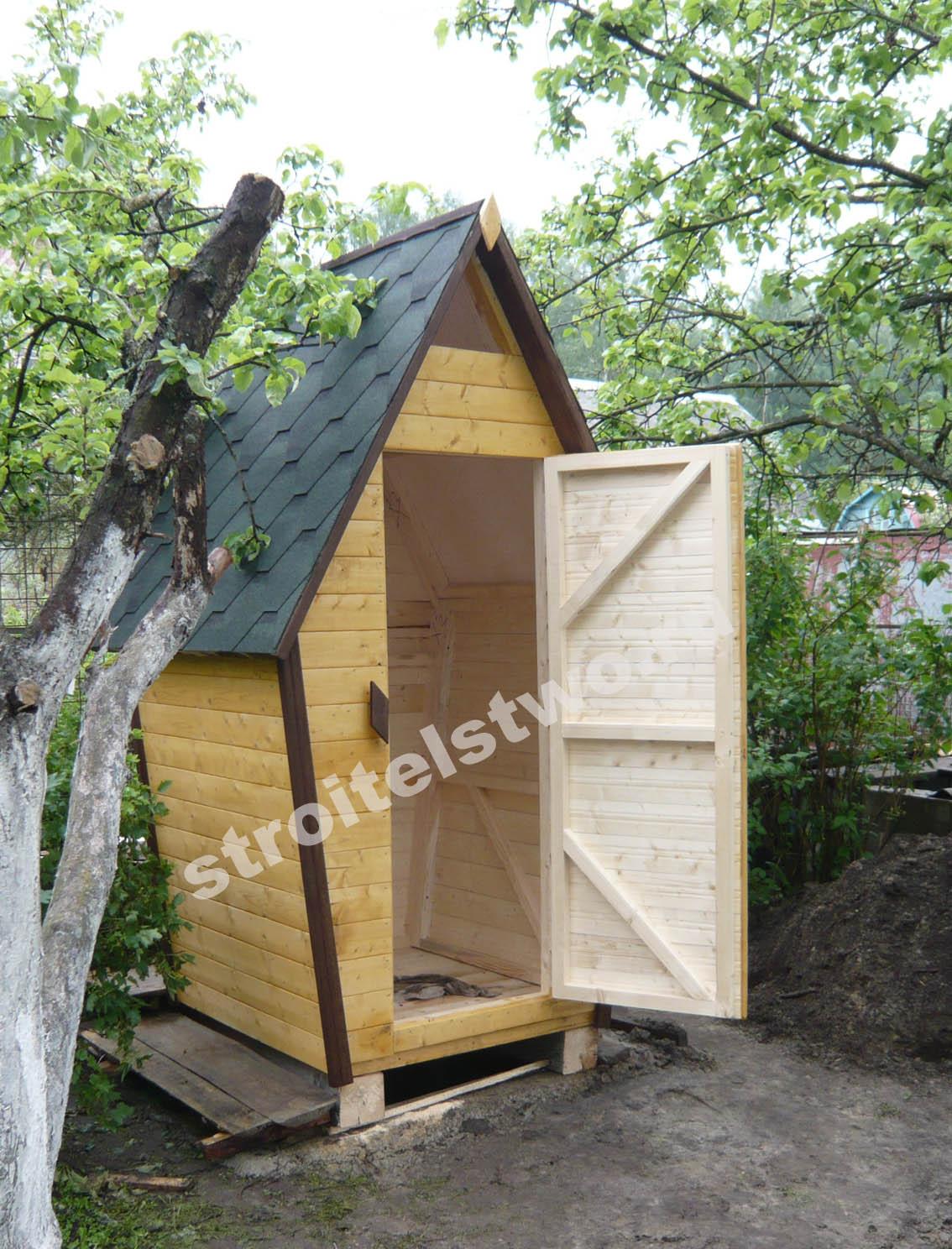 Чем покрыть туалет на даче