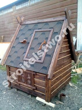 домик для колодца дизайнерский