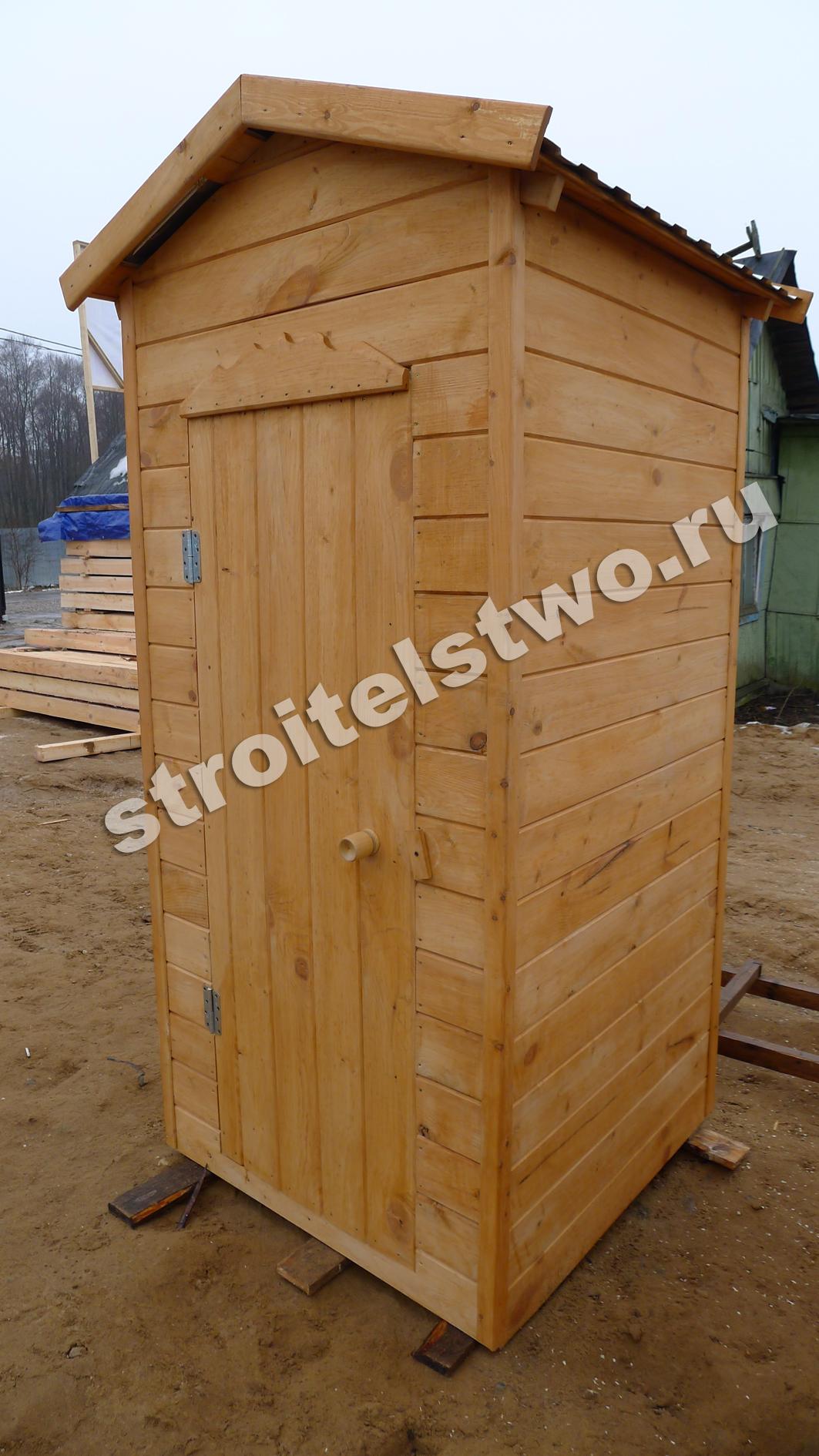 Деревянный душ туалет своими руками